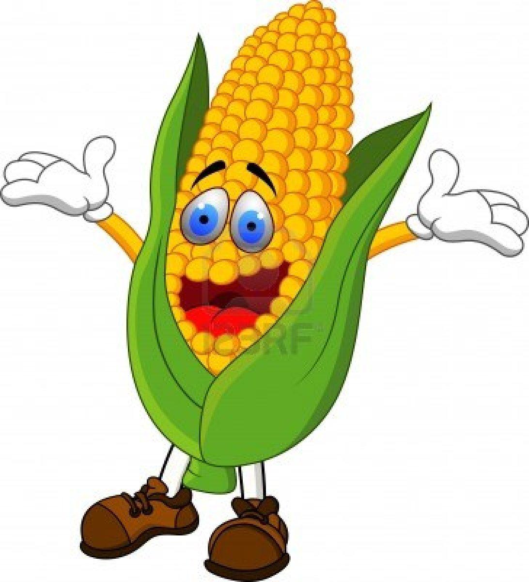 1092x1200 Funny Corn Clipart