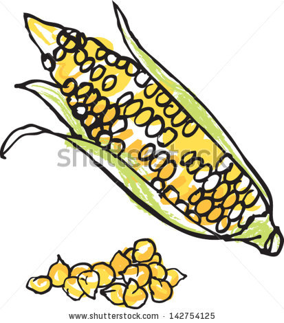 413x470 Grain Corn Clipart, Explore Pictures