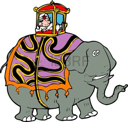 450x431 Asian Elephant Clipart Land Animal