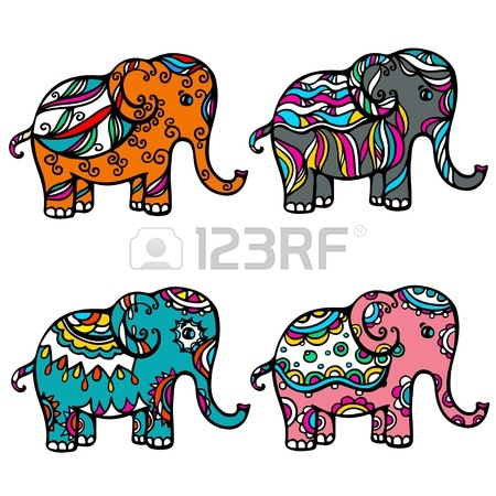 450x450 Indian Elephant Clipart Indian Elephant Clip Art Clipart Panda