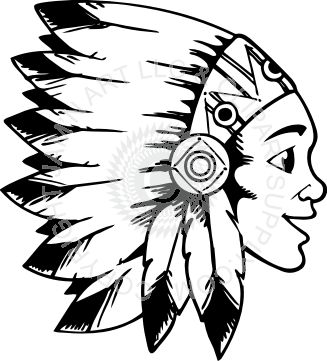 Indian Feather Clipart