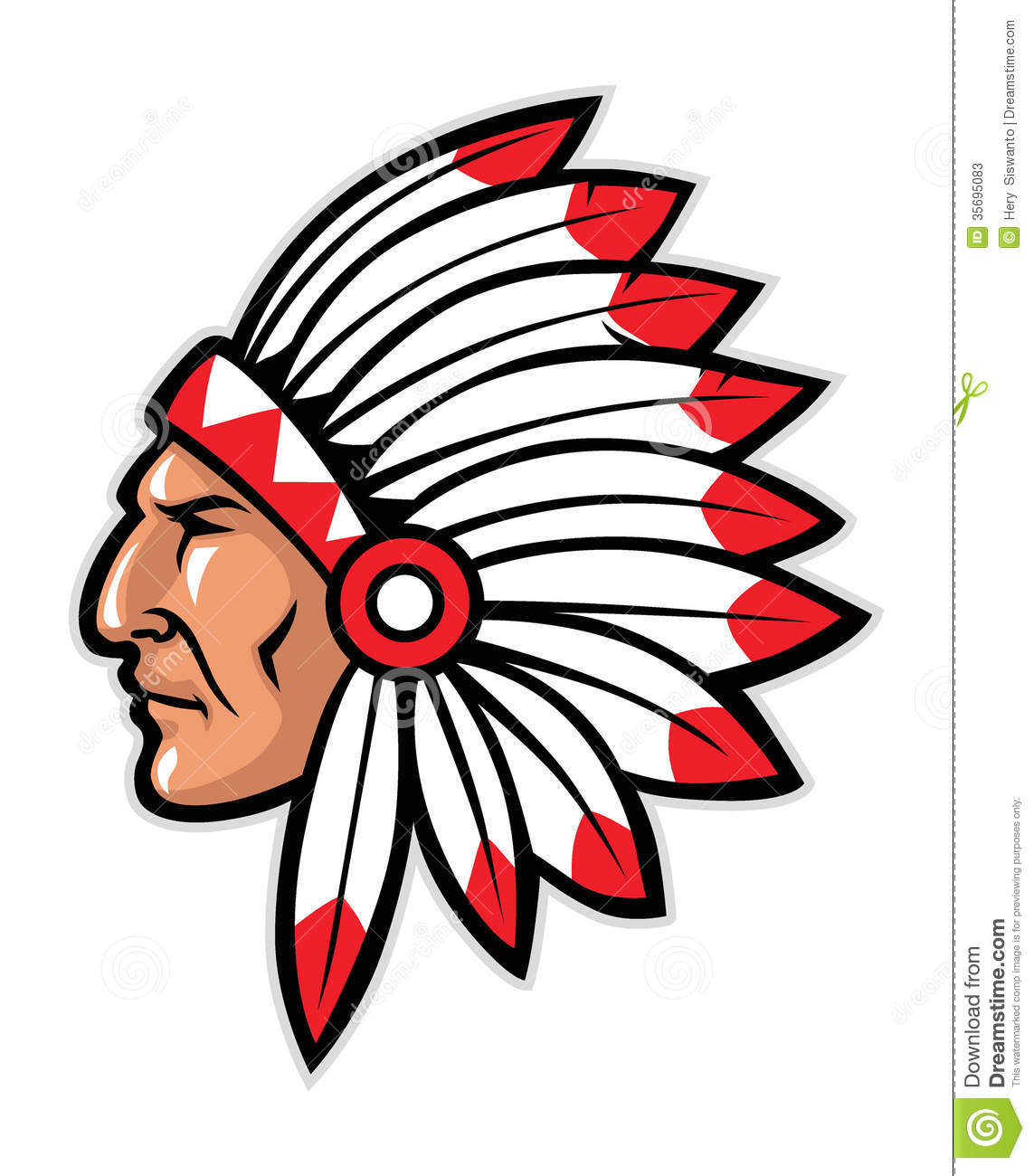 1143x1300 Headband Clipart Native American