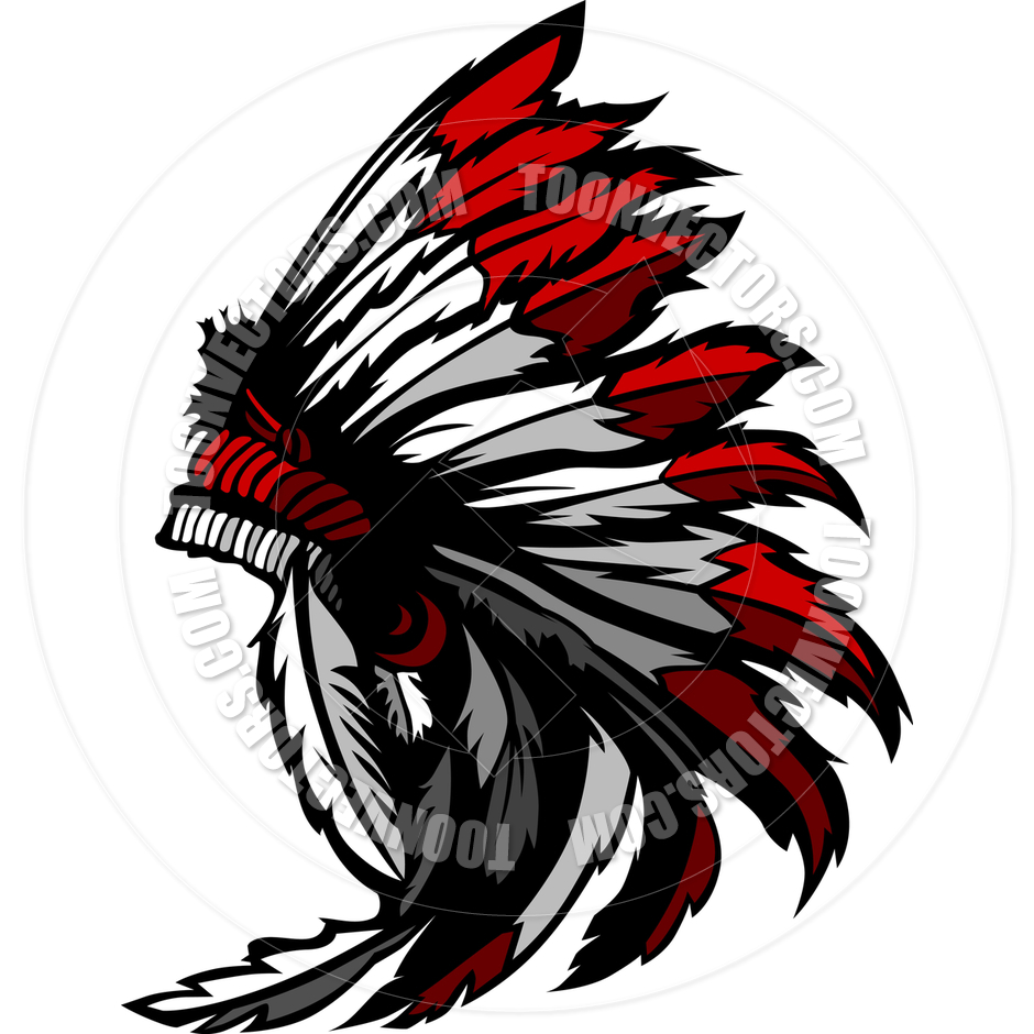 940x940 Headdress Clipart Indian Feather
