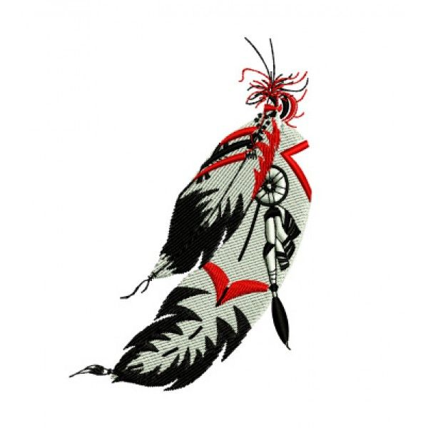 600x600 Aborigines Clipart Indian Feather