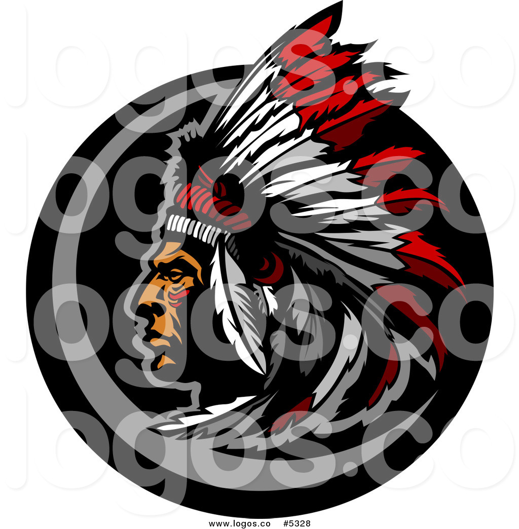 1024x1044 Royalty Free Vector Of A Logo Of A Native American Indian Chief
