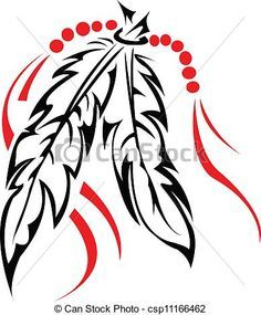236x285 Tribal Feather Clip Art Native American Tattoos Feathers