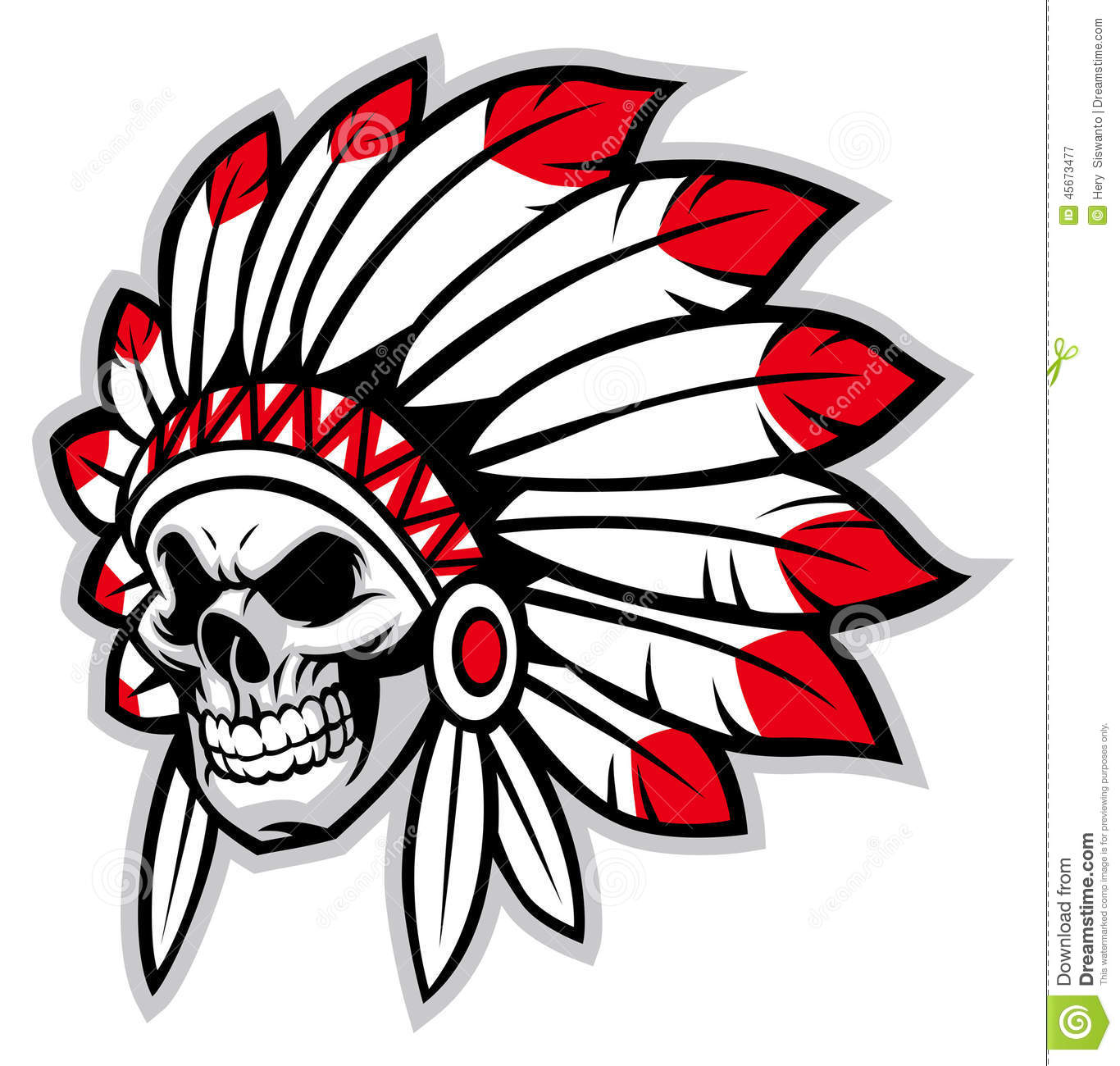 1366x1300 Headdress Clipart Indian Head