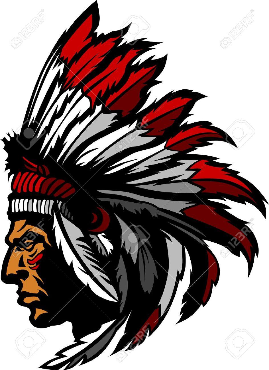 944x1300 Headdress Clipart Indian Head