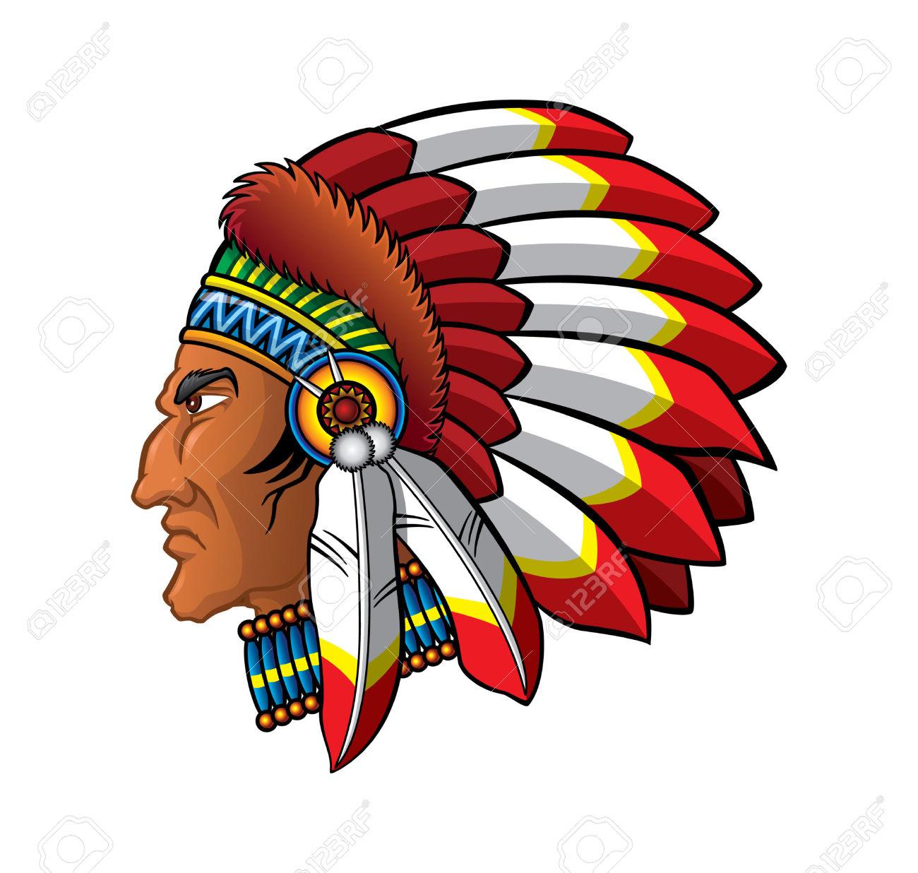 1300x1236 Headdress Clipart Tribal