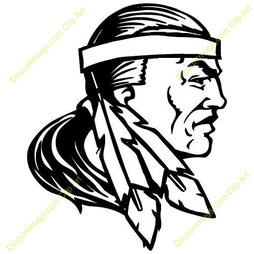 500x500 Indians Feathers Clipart