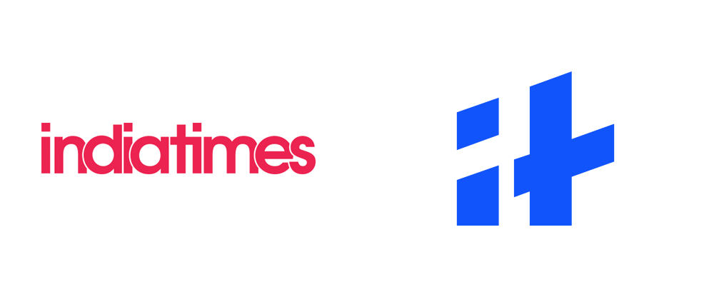 1000x416 Brand New New Logo And Identity For Indiatimes By Animal