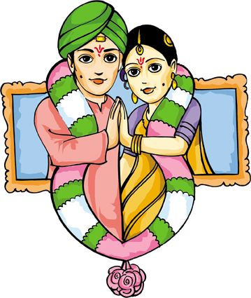 Indian Wedding Clipart