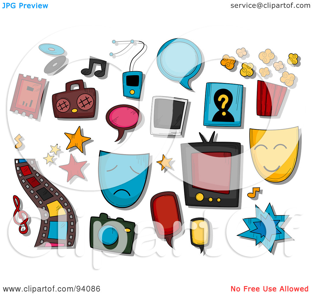 1080x1024 Collage Clipart Entertainment Industry