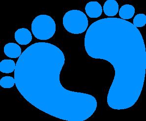 297x246 Baby Boy Footprint Clipart Free Clip Art Images