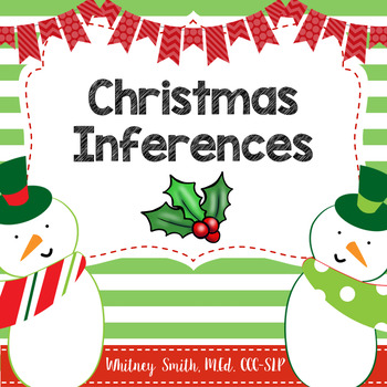 350x350 Christmas Inferences Teaching Resources Teachers Pay Teachers