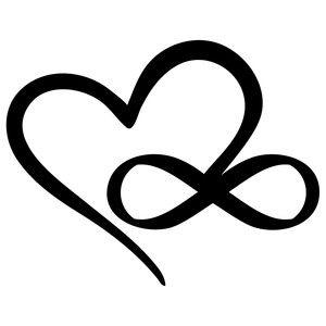 300x300 Silhouette Design Store Infinity Heart Sophie Gallo Design