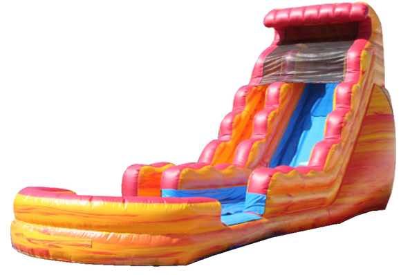 606x398 Inflatable Water Slide Clip Art