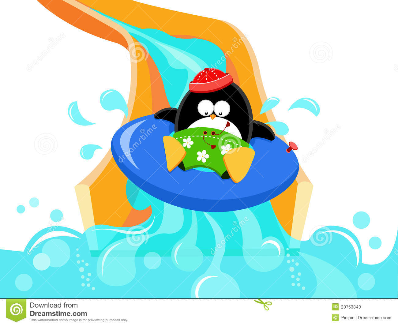 1300x1065 Pool Clipart Water Slide