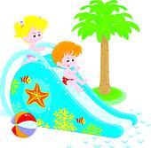 170x167 Water Slide Clip Art