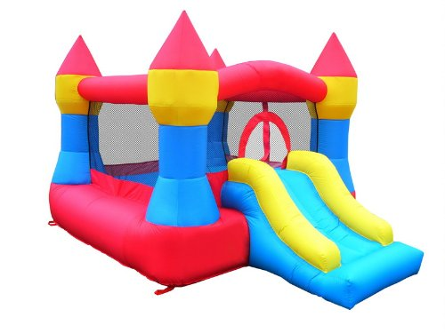 500x375 Bounce House Water Slide Clip Art