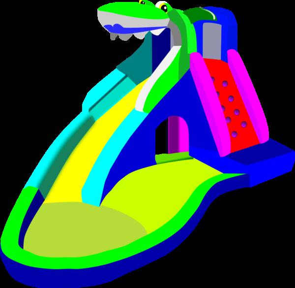 600x585 Water Slide Clip Art 4