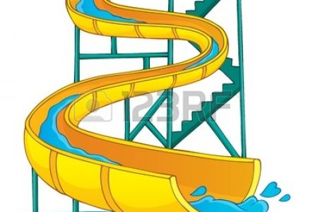 450x300 Bouncy Slide Clip Art