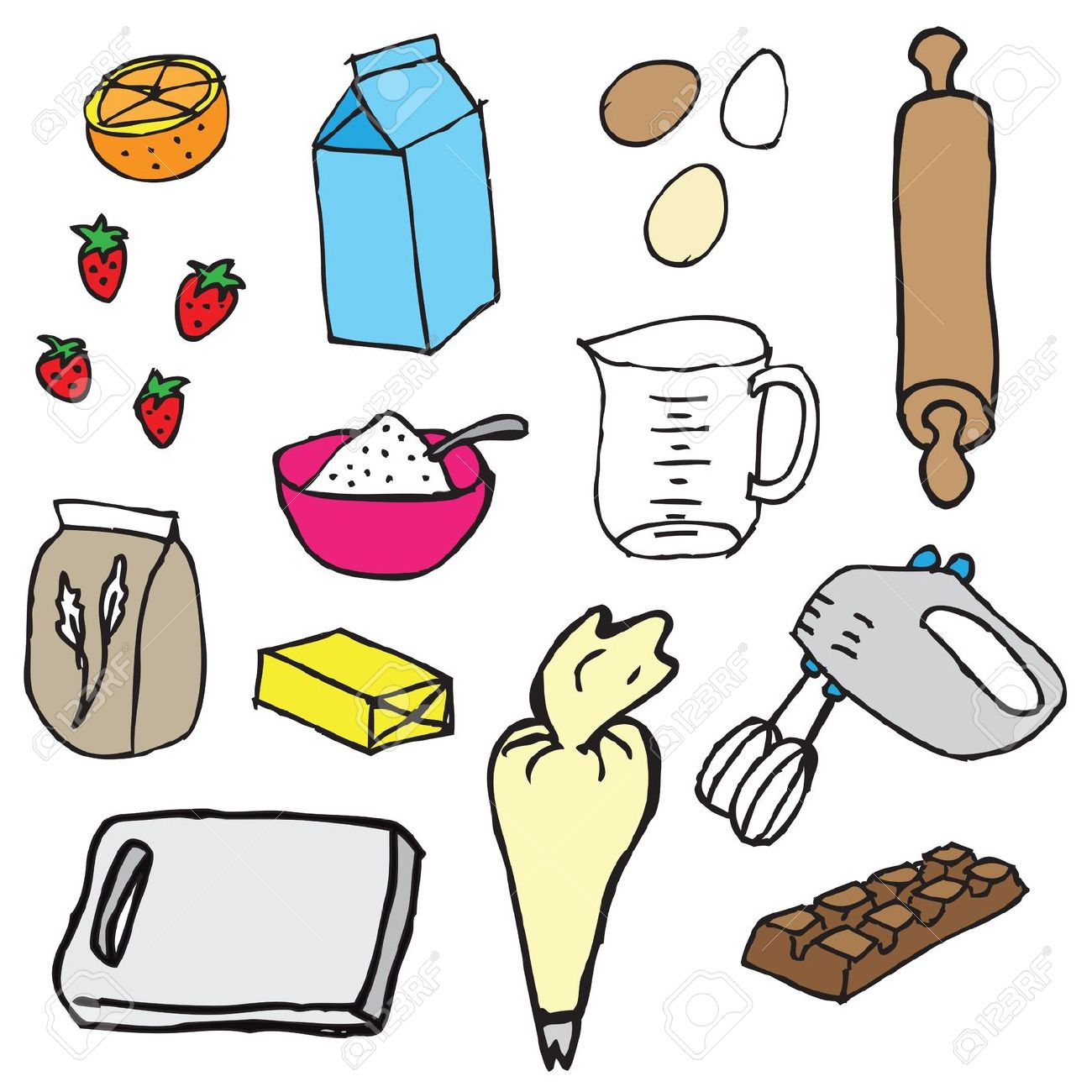 Ingredients Clipart Free Download Best Ingredients Clipart On