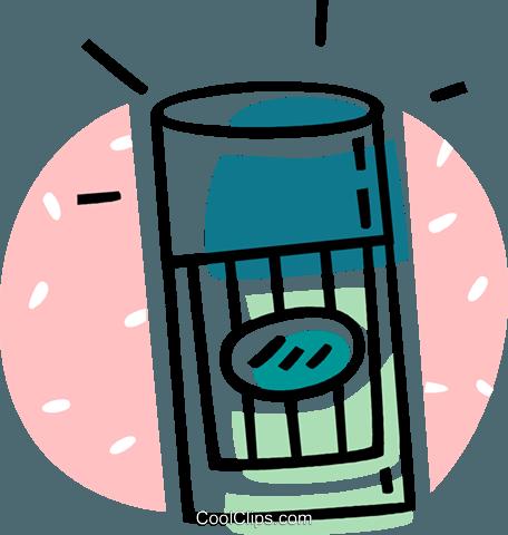 456x480 Deodorant Royalty Free Vector Clip Art Illustration Vc062032