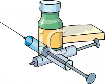 350x281 Insulin Injections Clipart