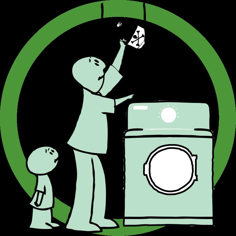 768x768 Filegetting Detergent Clip Art.svg