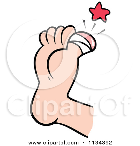 450x470 Foot Injury Clipart