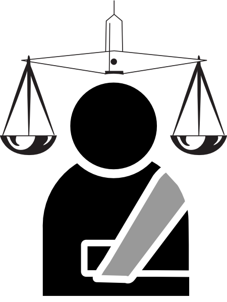 450x598 Personal Injury Lawyer Clip Art Free Vector 4vector