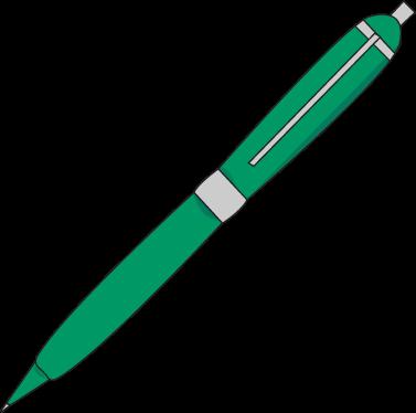 377x374 Ink Pen Clip Art Image