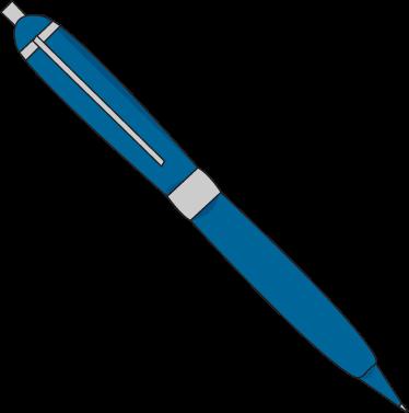 374x377 Pen Clip Art