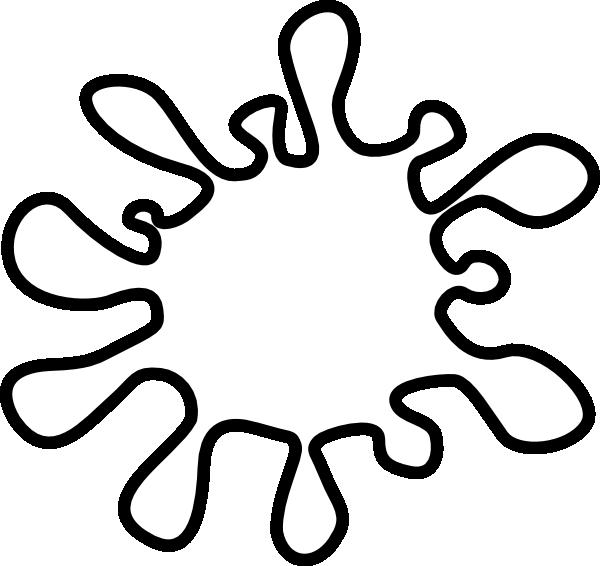 600x566 Clip Art Black Splash Clipart