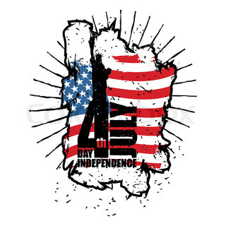 320x320 Independence Day In Usa. Statue Of Liberty In Grunge Style. Brush