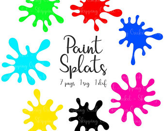 340x270 Paint Splatter Svg Etsy