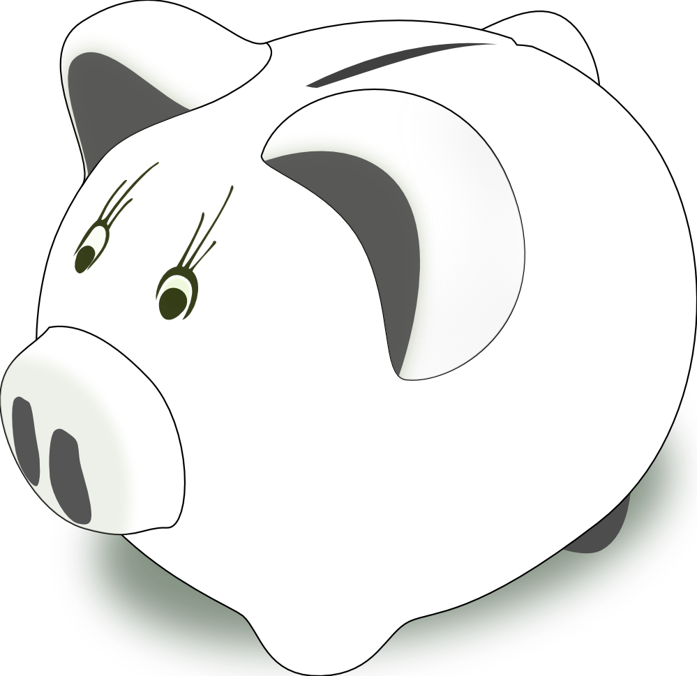 999x969 Piggy Bank Clip Art Clipart 3