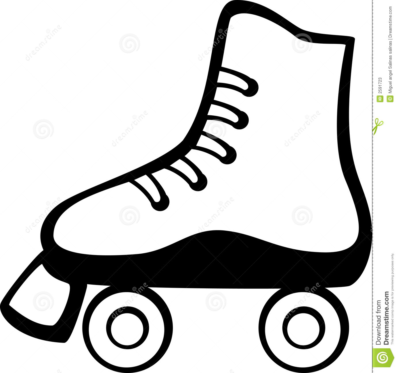 1384x1300 Red Clipart Roller Skate