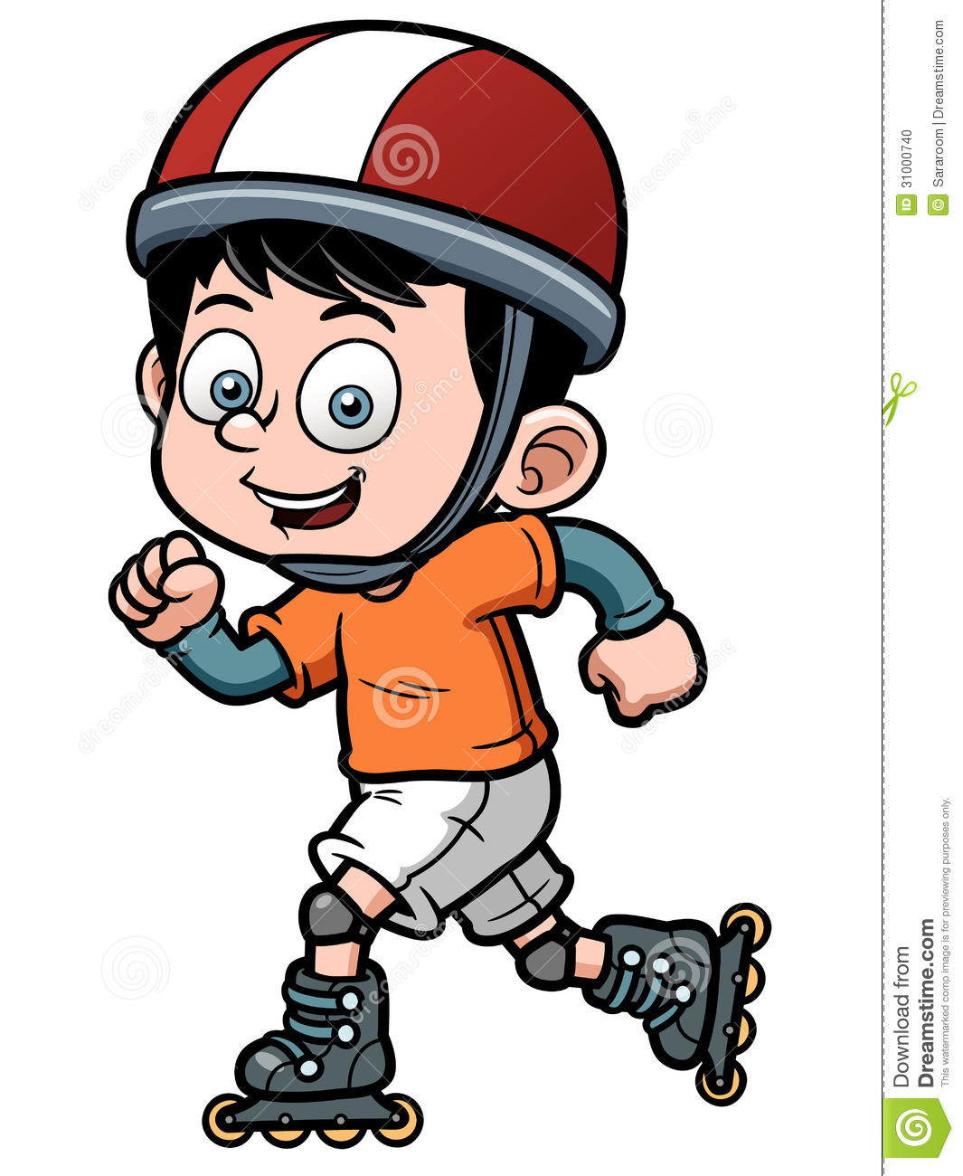 1065x1300 Child Clipart Roller Skating