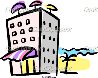 375x300 Inn Clipart Beach Hotel