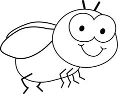 236x189 Fly Clipart Black And White