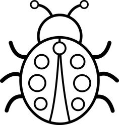 236x249 Free Black And White Insect Clipart