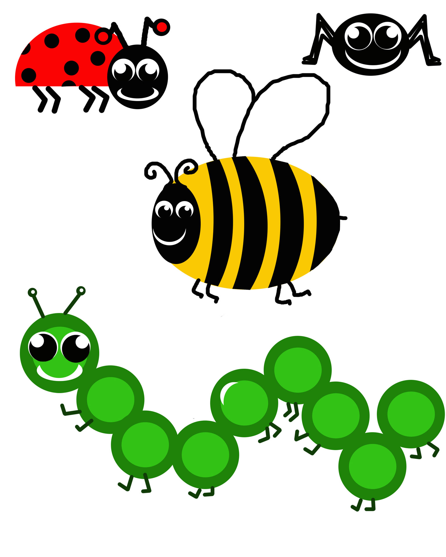 1536x1920 Insect Clipart Black And White Free Images 5
