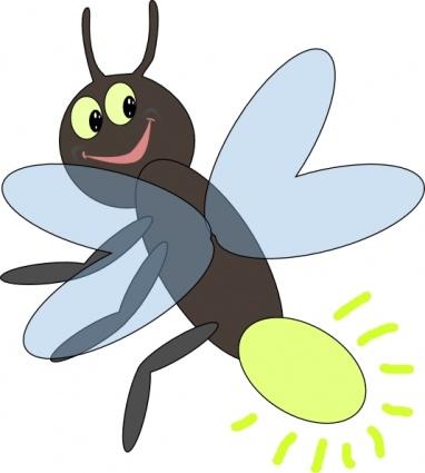 382x425 Clip Art Bug Cartoon Clipart Kid 2