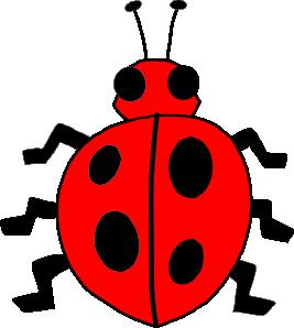 267x298 Ladybug Lady Bug Clip Art