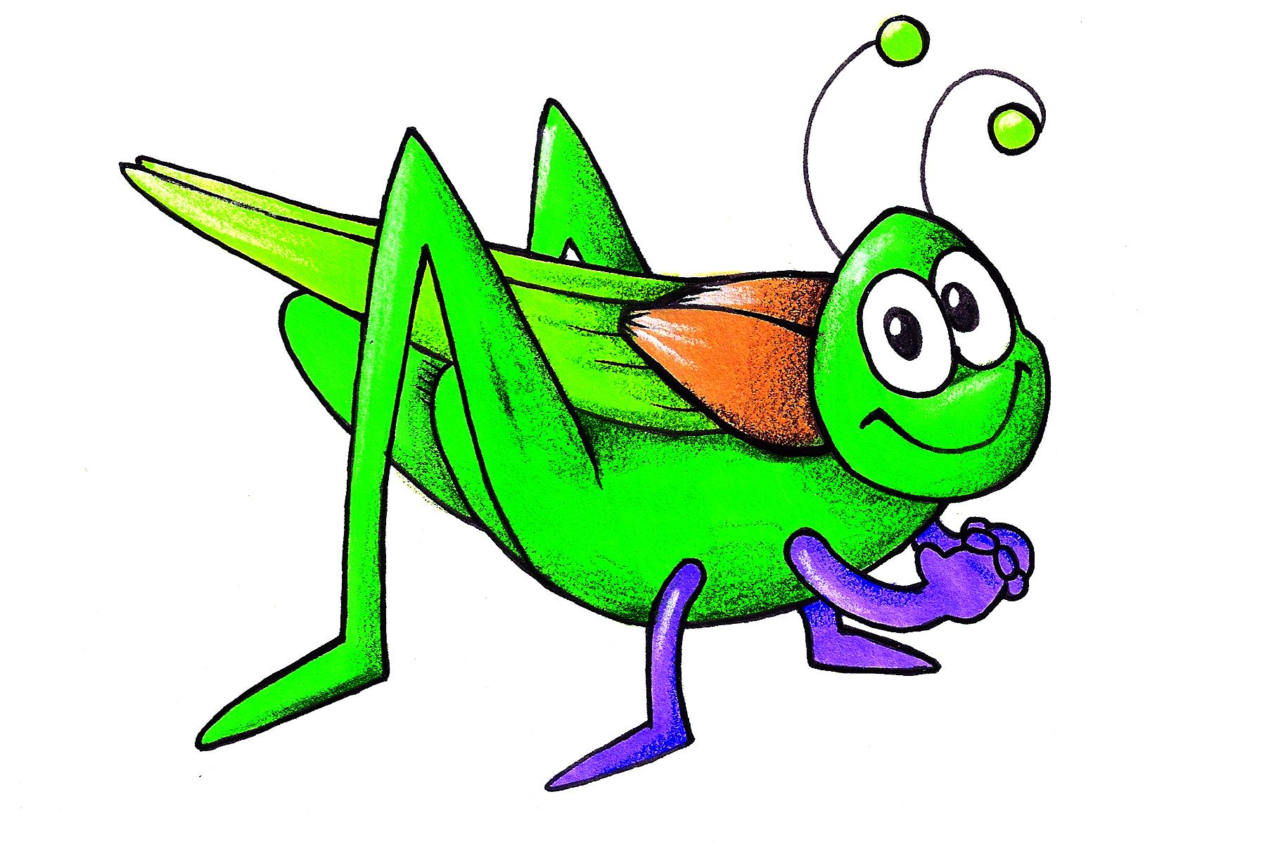 1800x1200 Top 81 Grasshopper Clip Art