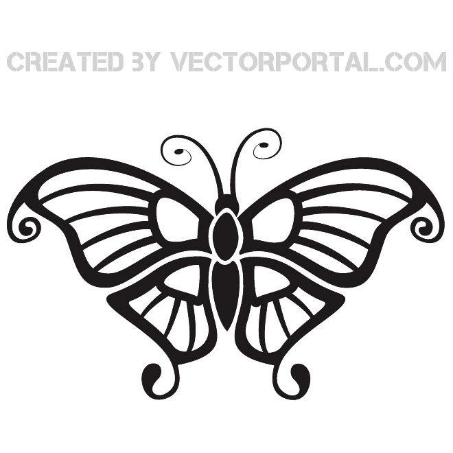 660x660 Butterfly Vector Format Image