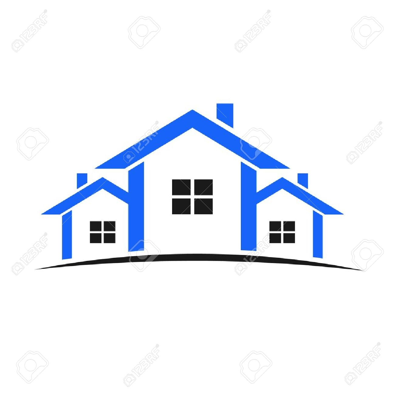 1300x1300 House Outline Clipart