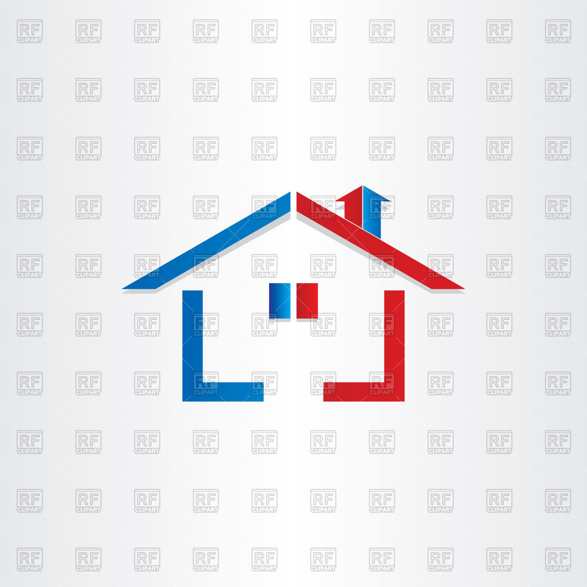 1200x1200 Icon Of House With Family Inside
